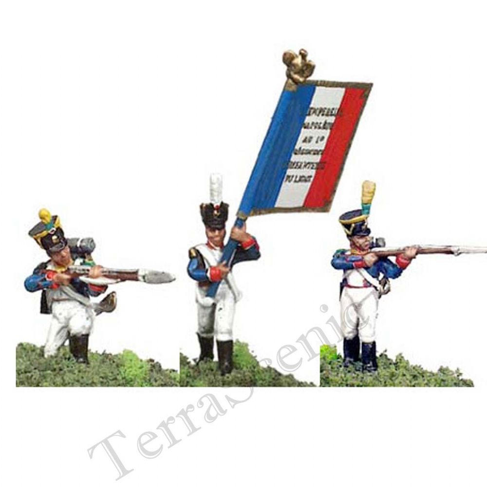 Prince August Metal Casting Moulds Soldiers French Line Infantry Grenadiers PA540
